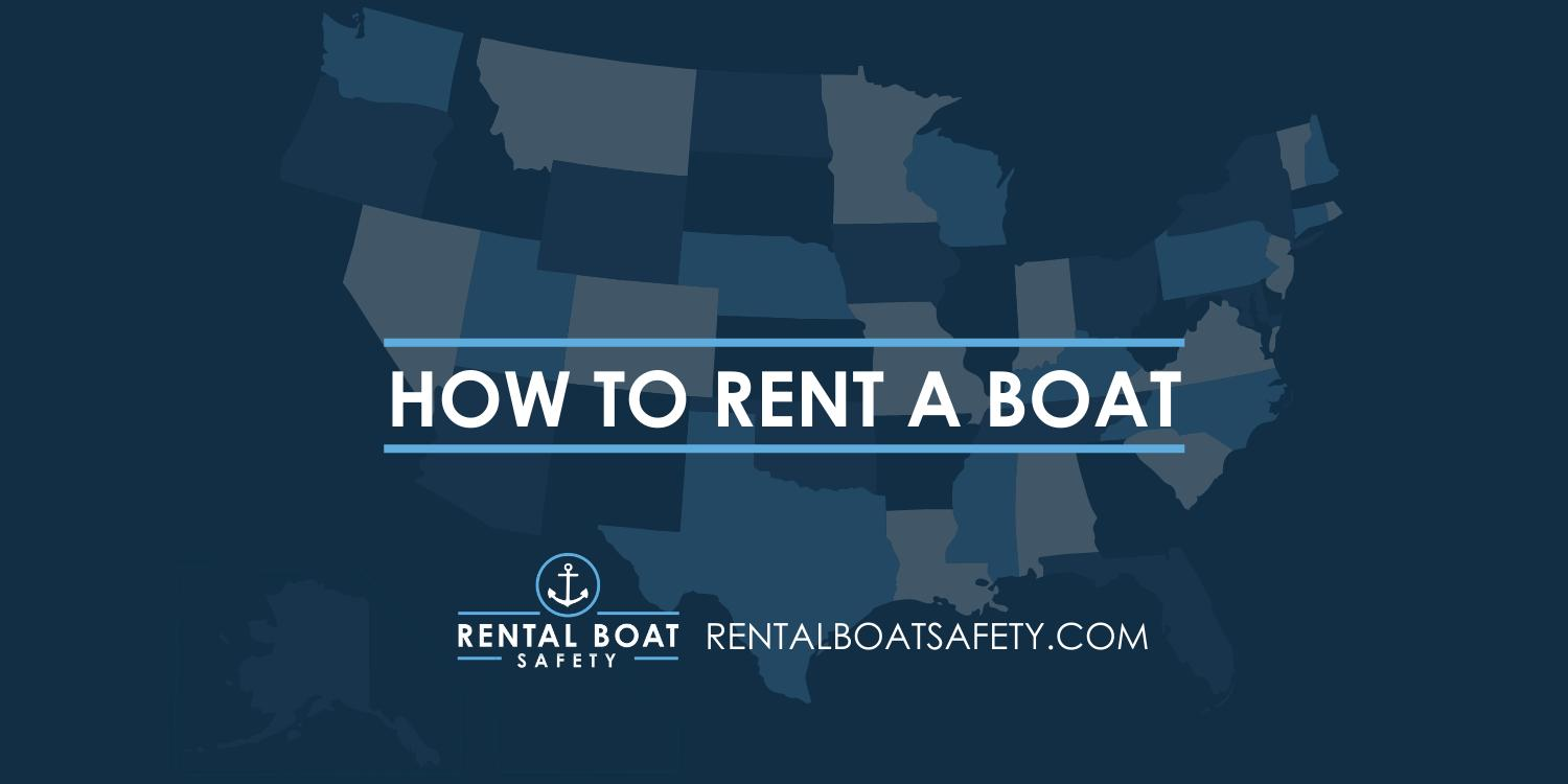 How to Rent a Boat